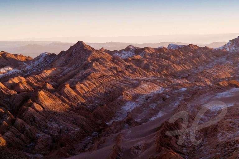 Lila Atacamawüste
