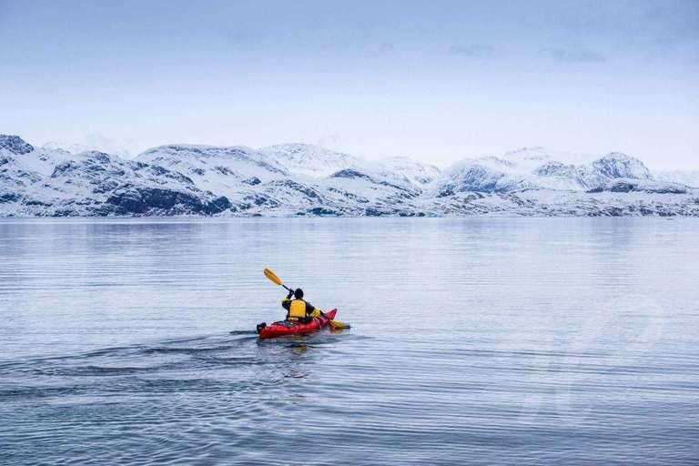 Mit dem Kajak auf dem Polarmeer
