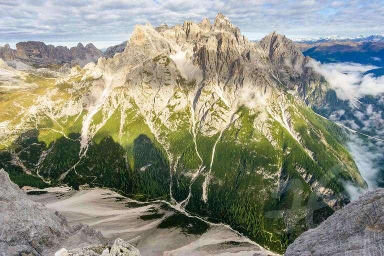 Aussicht von Oberbachernspitze