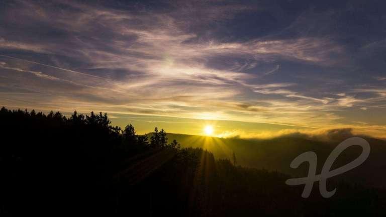 Sonnenaufgang Buchkopfturm