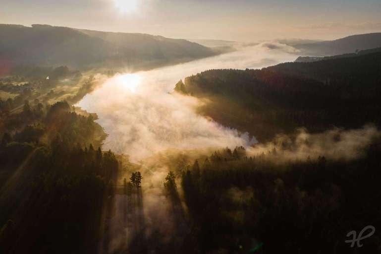 Morgenstimmung am Schluchsee Westufer