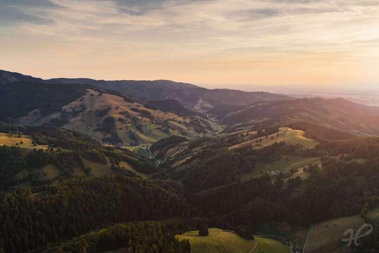 Münstertal von oben