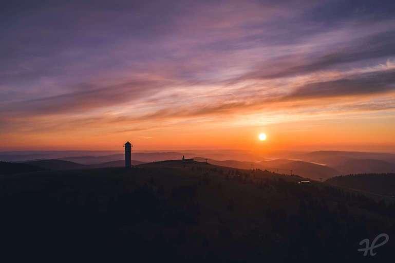 Feldberg im Morgenlicht