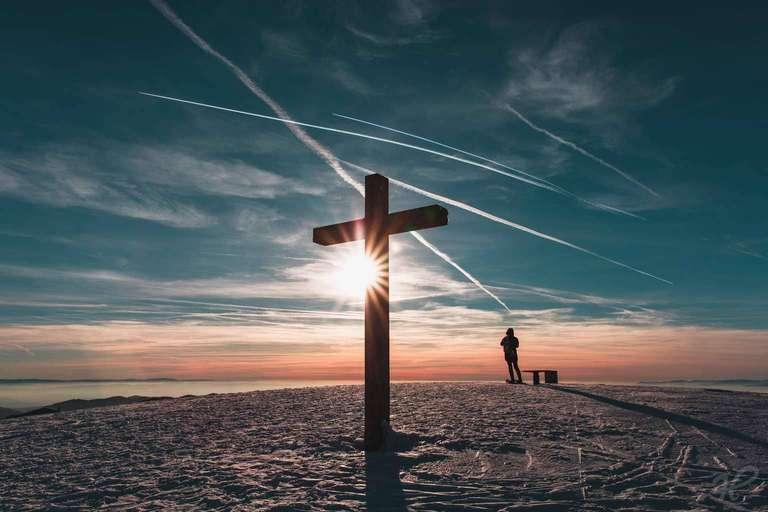 Sonne Genießen am Belchenkreuz