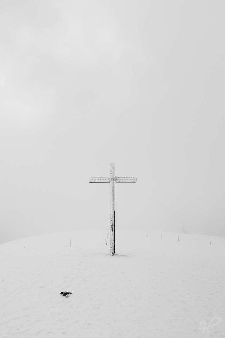 Belchenkreuz im Eis 2