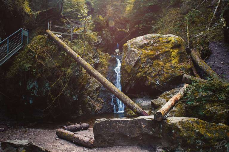 Wasserfall am Lotenbachklamm
