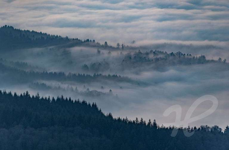 Wolkenmeer über der Ortenau