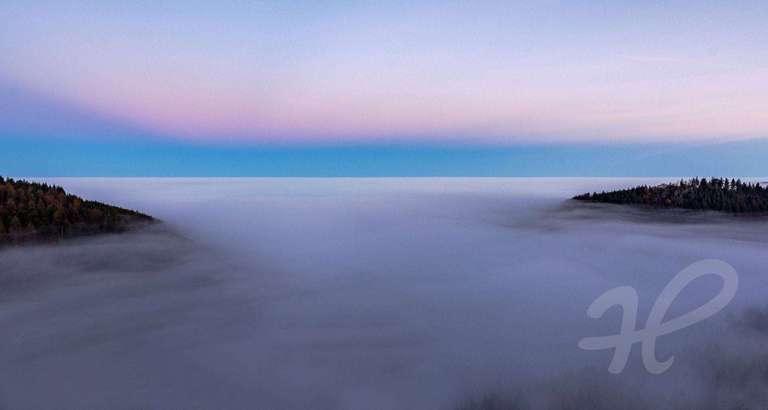 Blauer Horizont