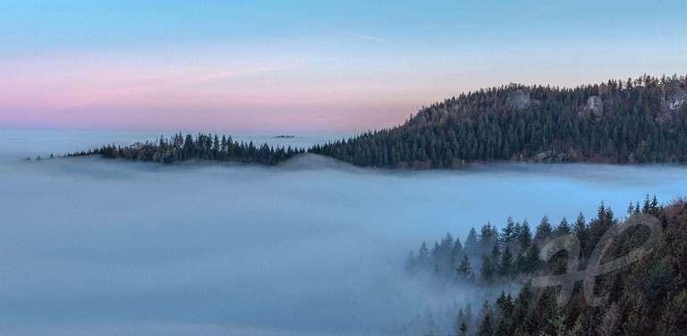 Bühlertal unter dem Nebelmeer