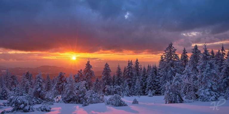 Winter auf dem Schliffkopf