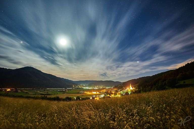 Fischerbach bei Nacht
