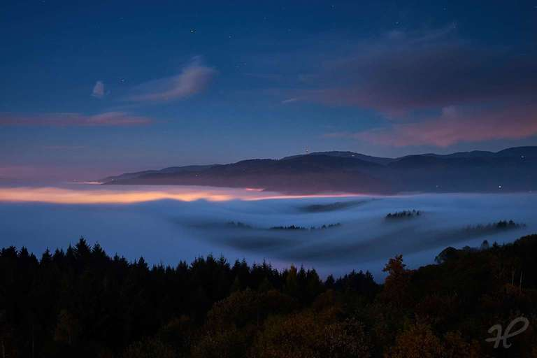 Nebelwelle im Renchtal