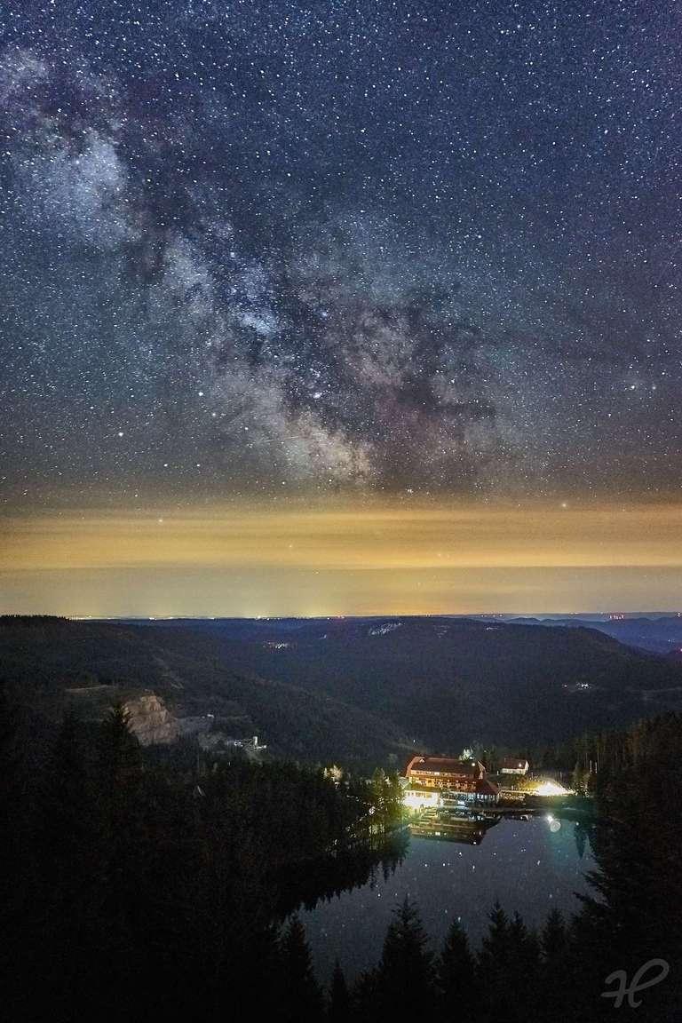 Mummelseeblick mit Milchstraße