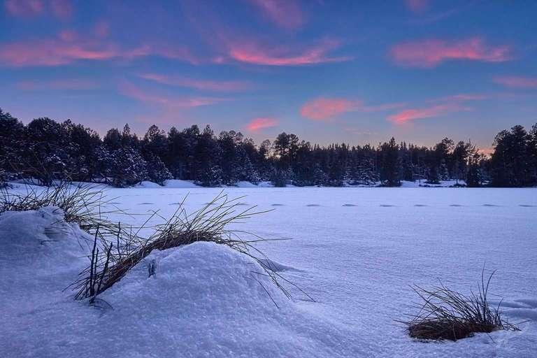 Blindensee im Winter