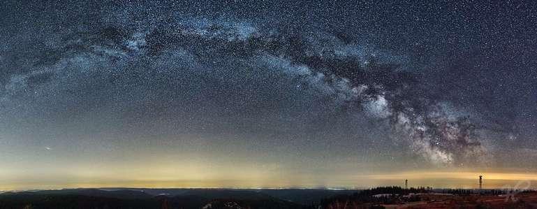 Milchstraßenbogen Panorama