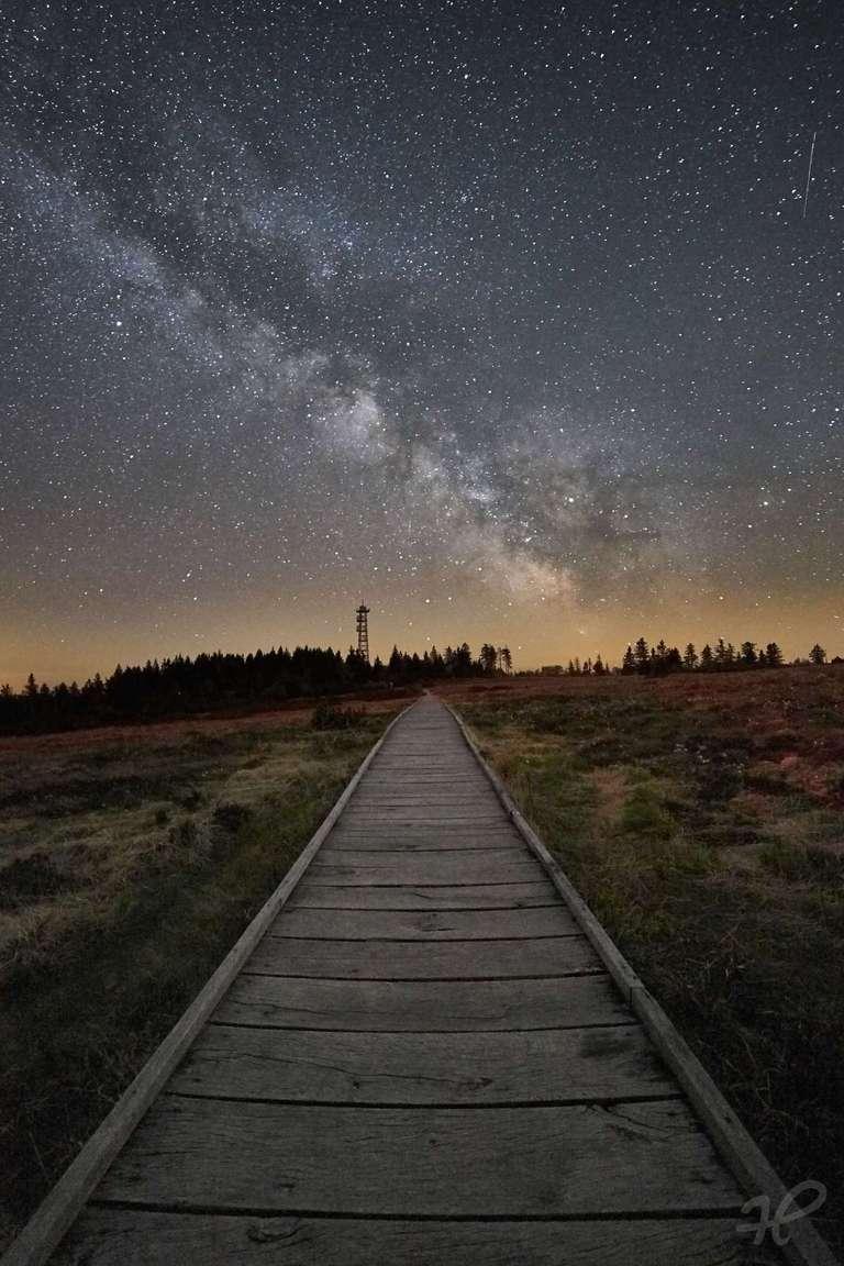 Milchstraße auf der Hornisgrinde