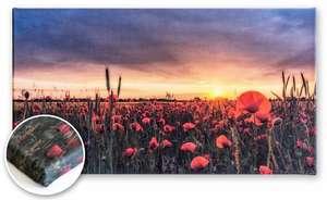 Unsere Heimatfotos Druckprodukte: Pigmentdruck auf Leinwand - eine hochwertige und gleichzeitig kostengünstige Variante für ein wunderschönes Wandbild