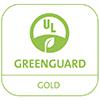 Logo Greenguard Gold - Unsere UV-Direktdrucktinte von swissQprint ist nach Greenguard und Greenguard Gold zertifiziert. Damit dürfen unsere Drucke auch Kindergärten verschönern oder Behandlungs- und Patientenzimmer zieren. Völlig bedenkenlos.