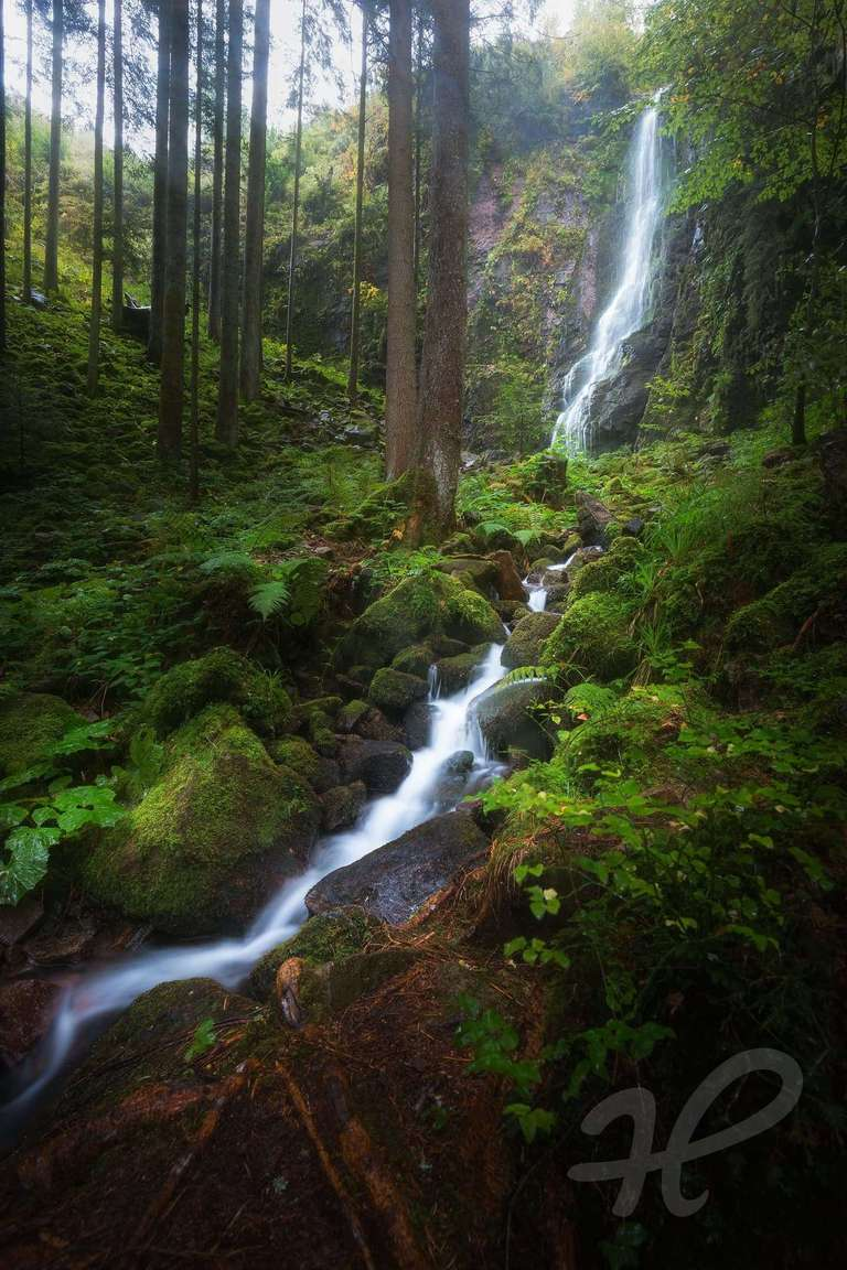 Burgbach Wasserfälle