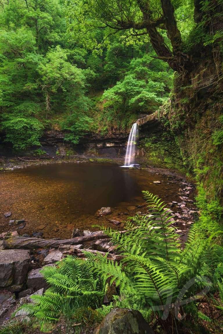 Wasserfall in Wales