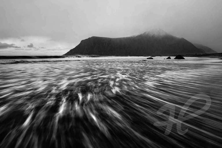 Am Strand der Lofoten