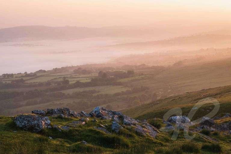 Sonnenaufgang in den Brecon Beacons