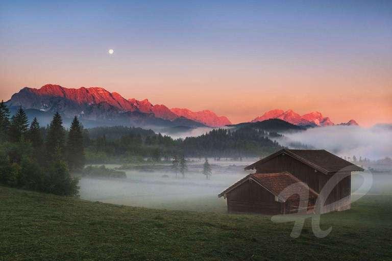 Vollmond im Karwendel