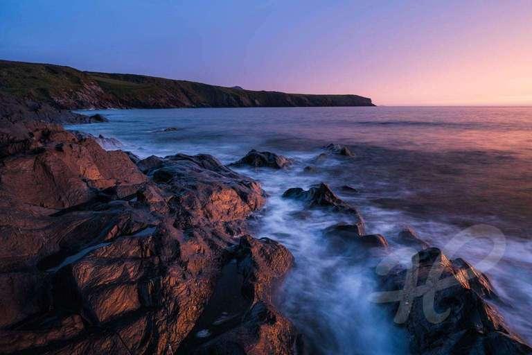 Steilküste in Wales