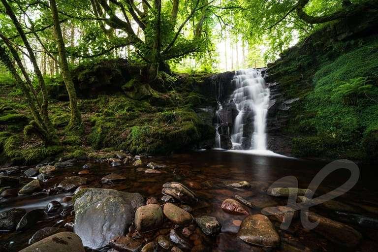 Caerfanell Wasserfall
