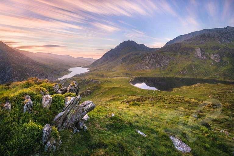 Sonnenaufgang am Pinnacle Crag