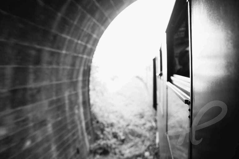 Im Tunnel der Schauschwänzlebahn