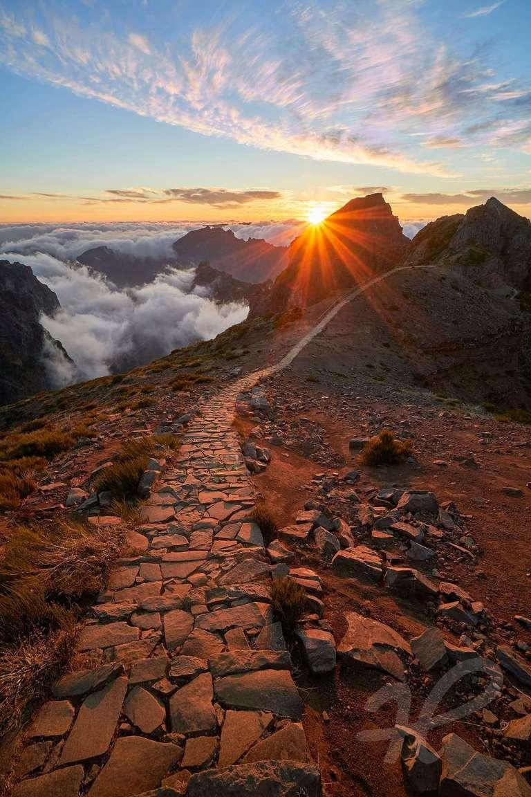 Sonnenuntergang auf dem Pico do Arieiro