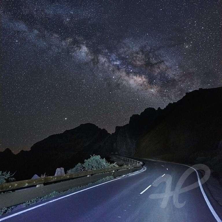 Milchstraße auf La Palma