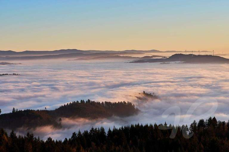 Nebel über dem Kinzigtal