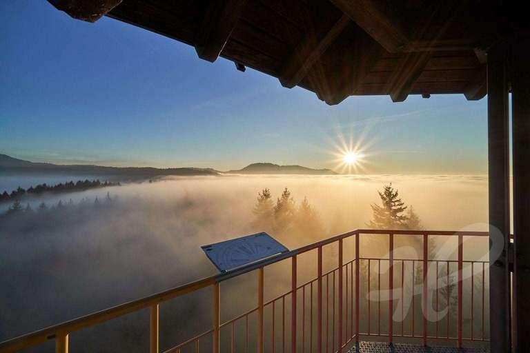 über dem Nebel auf dem Geigerskopf