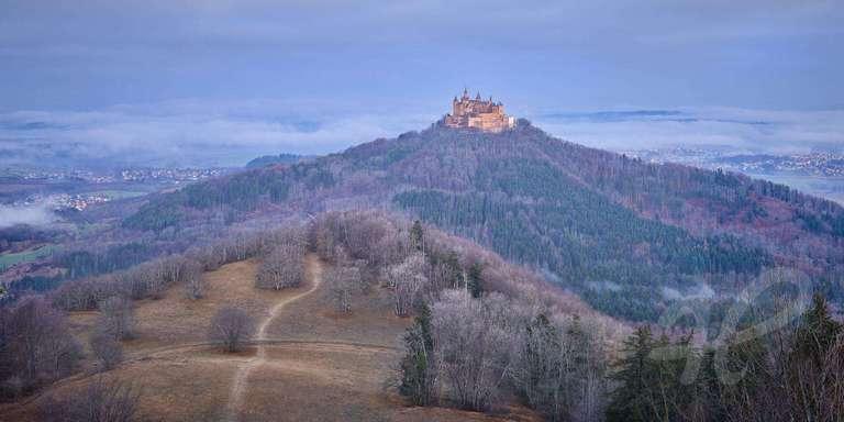 Burg Hohenzollern am Morgen