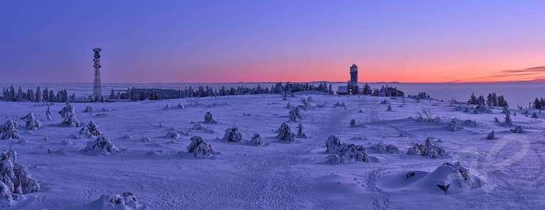Winterpanorama Hornisgrinde