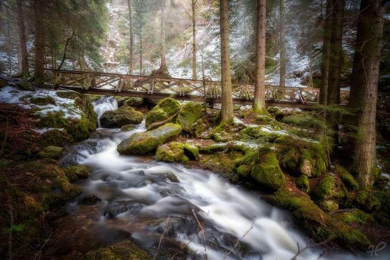 Wasserfälle - Ravennaschlucht