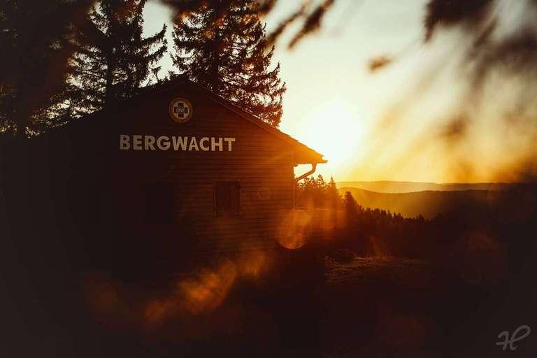 Bergwacht Hütte Kandel