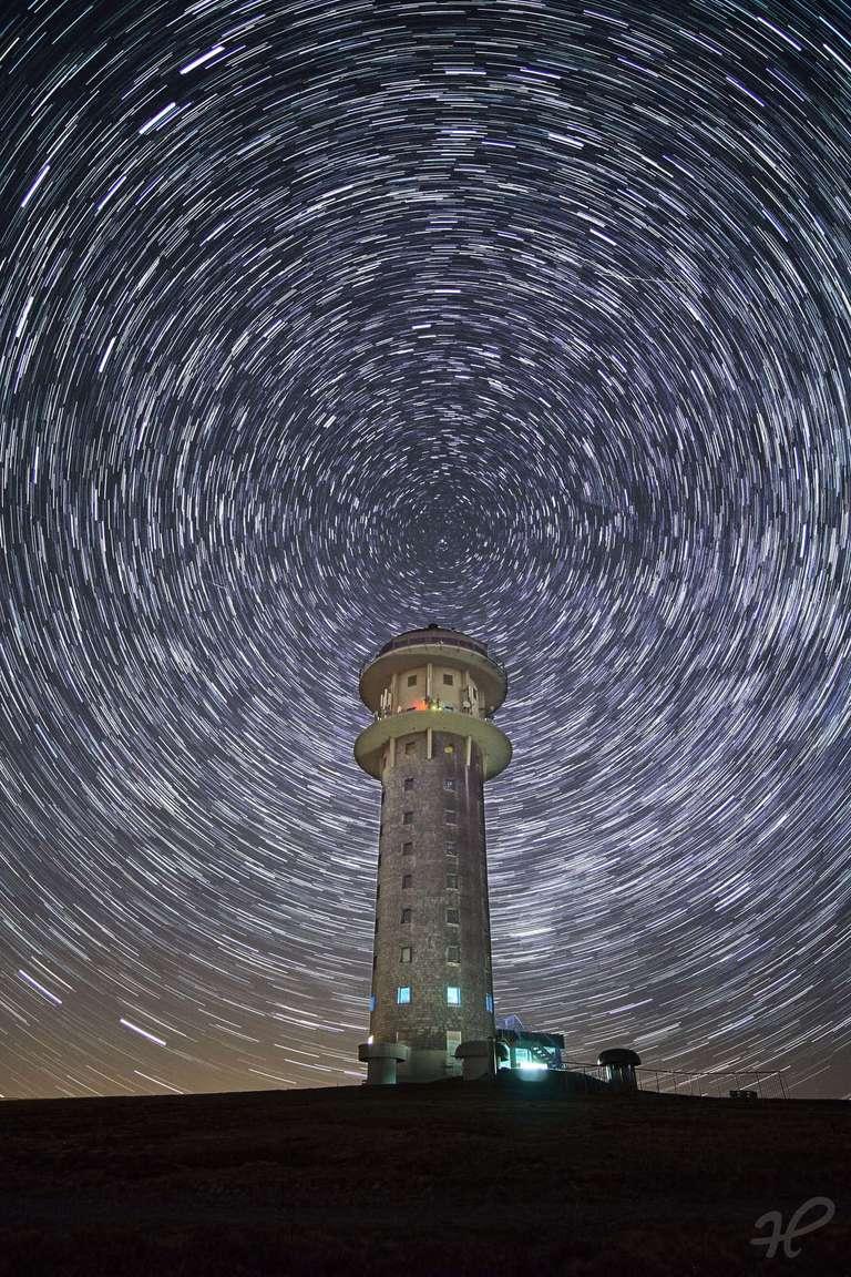 Sternspuren Feldbergturm