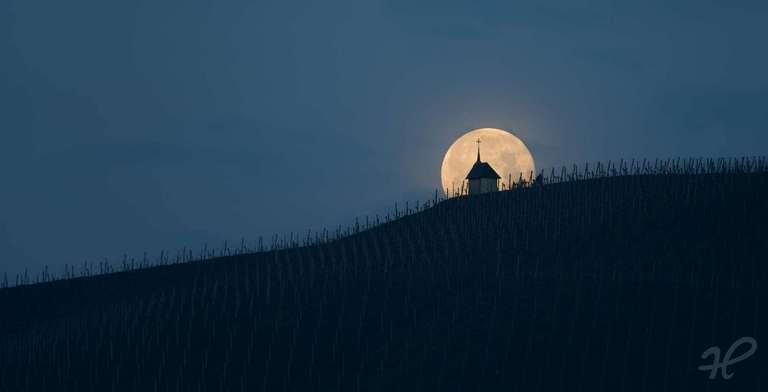 Teufelskapelle Monduntergang