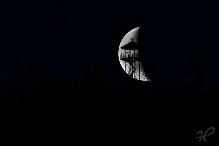 Mondsichel Geigerskopf