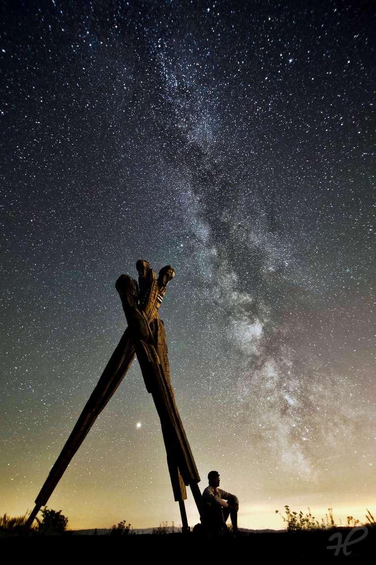 Lothar, Mars und Milchstrasse