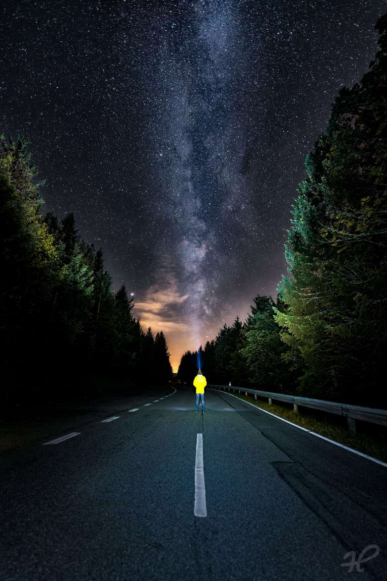 Milchstraße auf dem Schauinsland