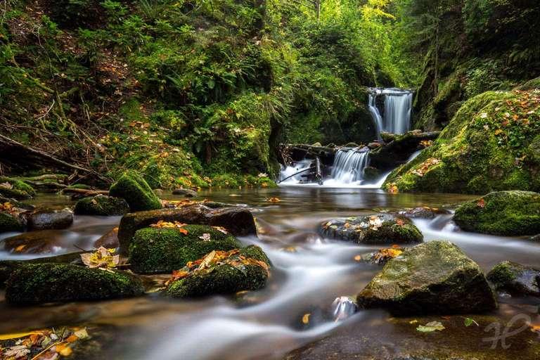 Am Geroldsauer Wasserfall (2)