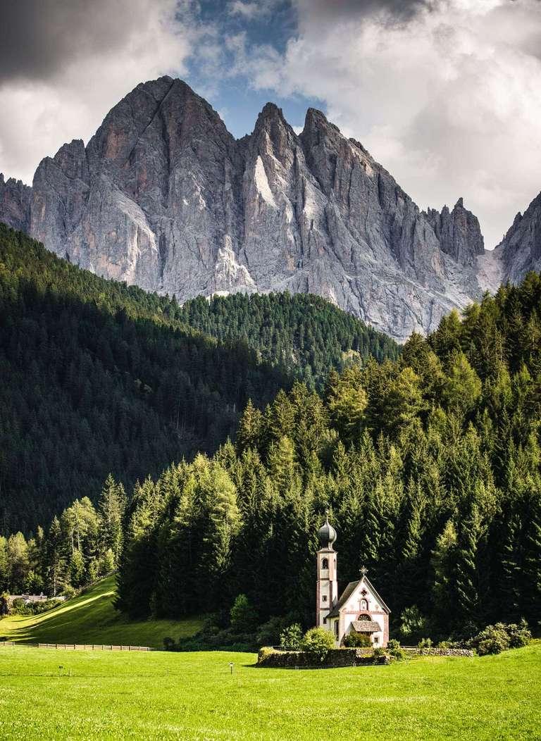 St. Magdalena Kirche in den Dolomiten
