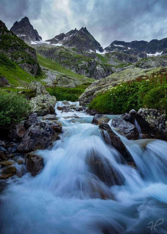 Wasserfall am Sustenpass