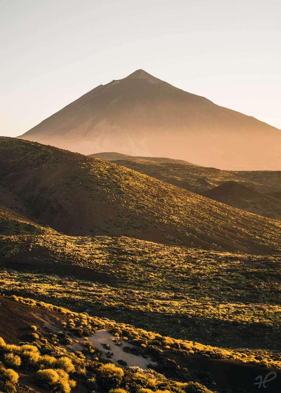 Goldene Stunde am Teide Vulkan