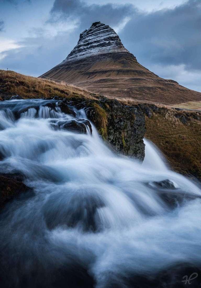 Kirkjufell Wasserfall