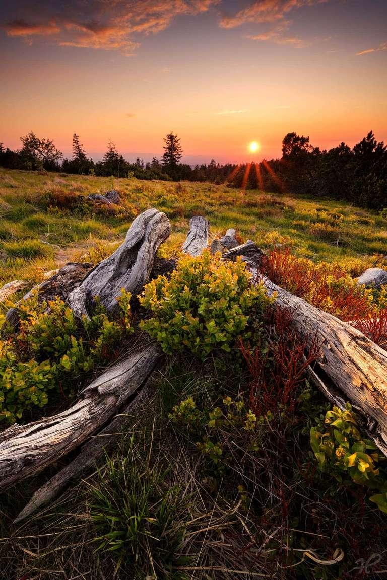 Schliffkopf Sonnenuntergang